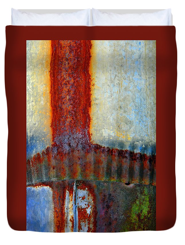 Skip Hunt Duvet Cover featuring the photograph Magma by Skip Hunt