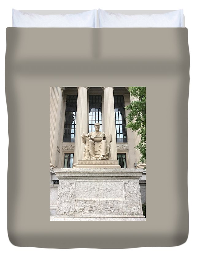 Magneto Duvet Cover featuring the photograph Magneto by Sterlyn Claire