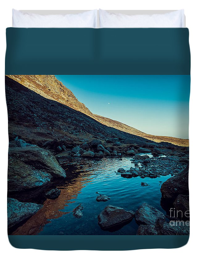 Duvet Cover featuring the photograph Mahon River by Marc Daly