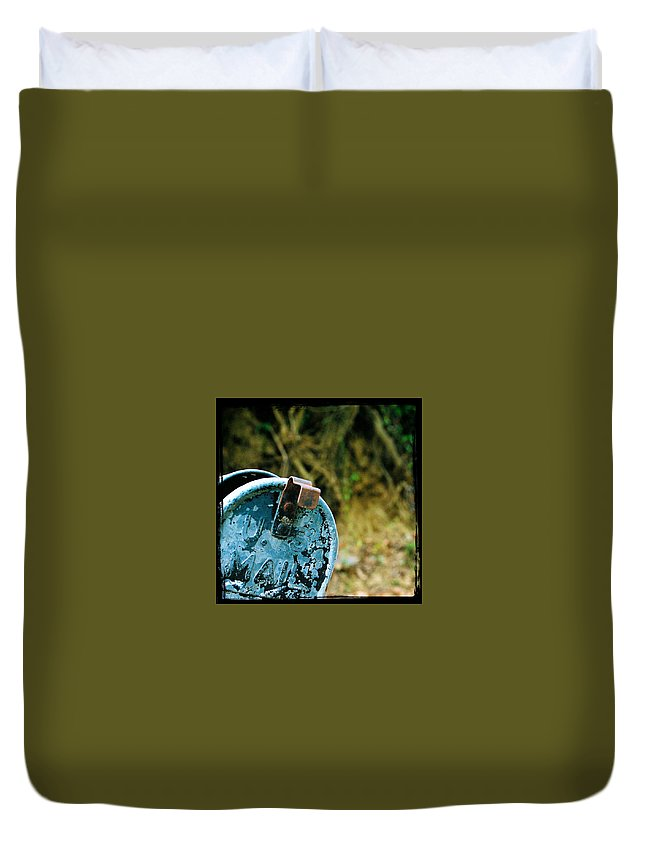 Mailbox Duvet Cover featuring the photograph Mail by Leon Hollins III