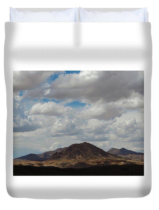 Landscape Duvet Cover featuring the photograph Untitled by Cyrus Javid