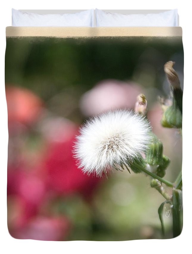Garden Duvet Cover featuring the photograph Make A Wish... by Cindy Garber Iverson