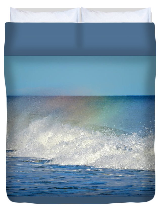 Ocean Duvet Cover featuring the photograph Make A Wish by Dianne Cowen