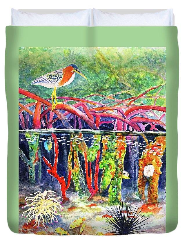 Aquatic Vegetation Duvet Covers