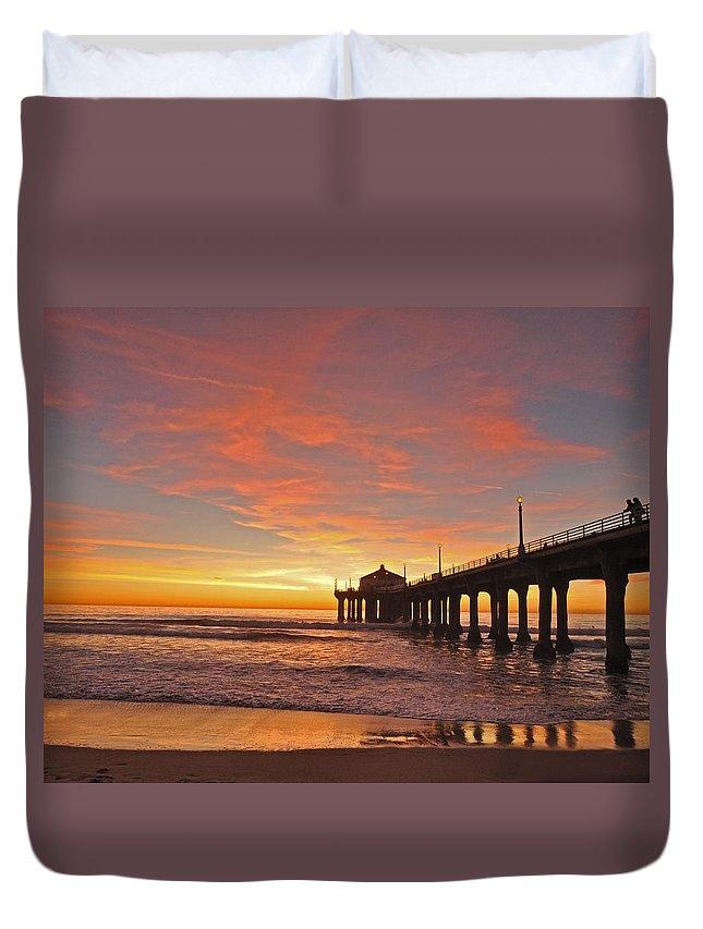 Beach Sunset Duvet Covers