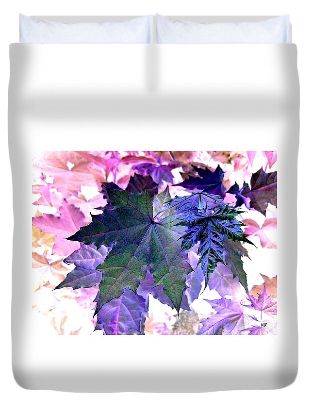 Dramatic Duvet Cover featuring the photograph Maple Magnetism by Will Borden
