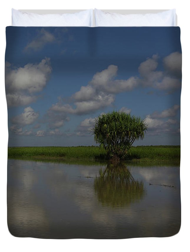 Mary River Duvet Cover featuring the photograph Mary River Floodplains - Australia by Julian Wicksteed