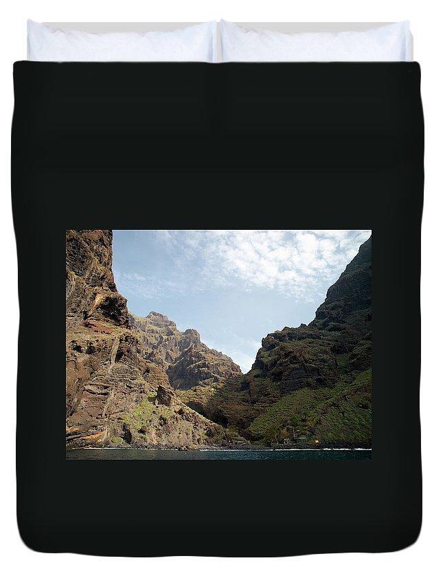 Valasretki Duvet Cover featuring the photograph Masca Valley Entrance 2 by Jouko Lehto