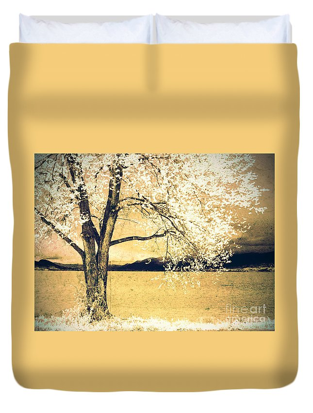 Tree Duvet Cover featuring the photograph May 5 2010 by Tara Turner