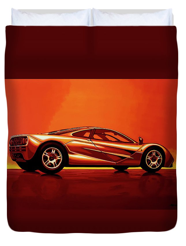 mercedes f1 duvet covers fine art america. Black Bedroom Furniture Sets. Home Design Ideas