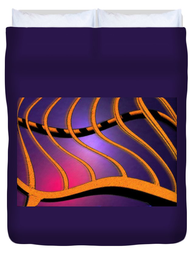 Photography Duvet Cover featuring the photograph Medusa by Paul Wear