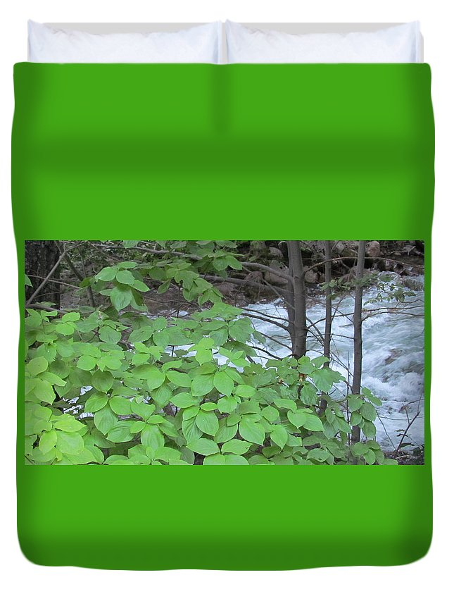 Merced River Duvet Cover featuring the photograph Merced In Yosemite by Derek Ryan Jensen