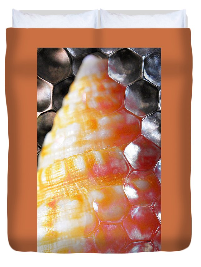 Skiphunt Duvet Cover featuring the photograph Merge 2 by Skip Hunt