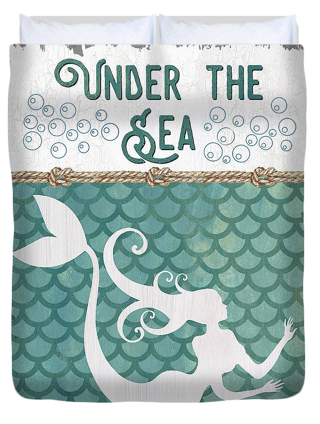 Mermaid Tail Duvet Covers