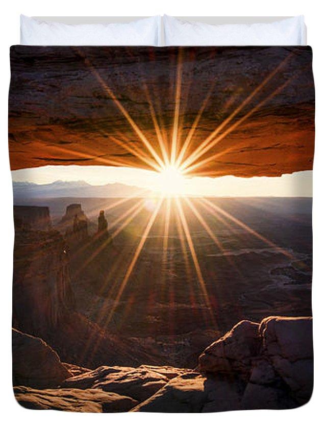 Beautiful Sunrise Photographs Duvet Covers