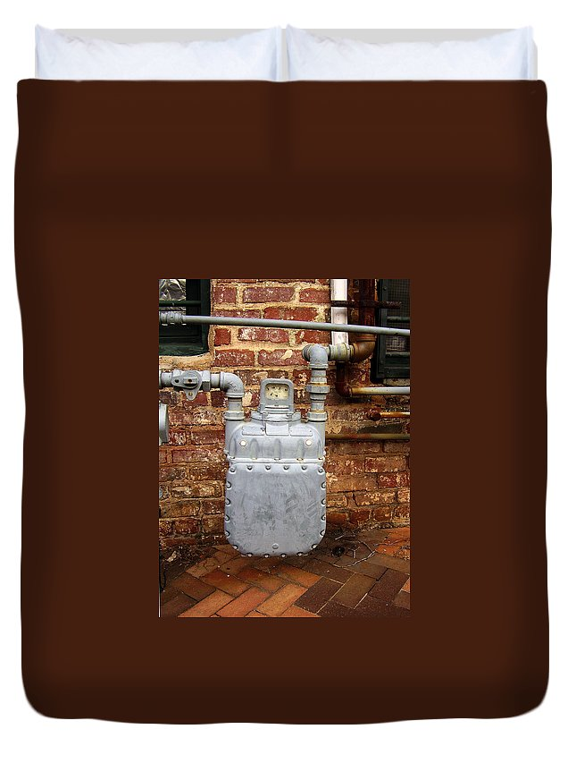 Meter Duvet Cover featuring the photograph Meter II In Athens Ga by Flavia Westerwelle