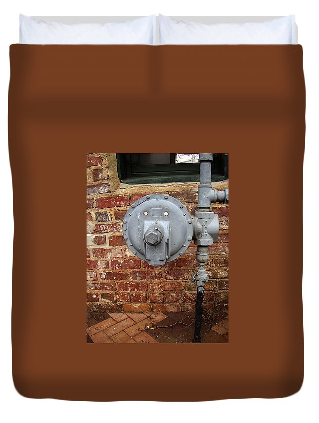 Meter Duvet Cover featuring the photograph Meter In Athens Ga by Flavia Westerwelle