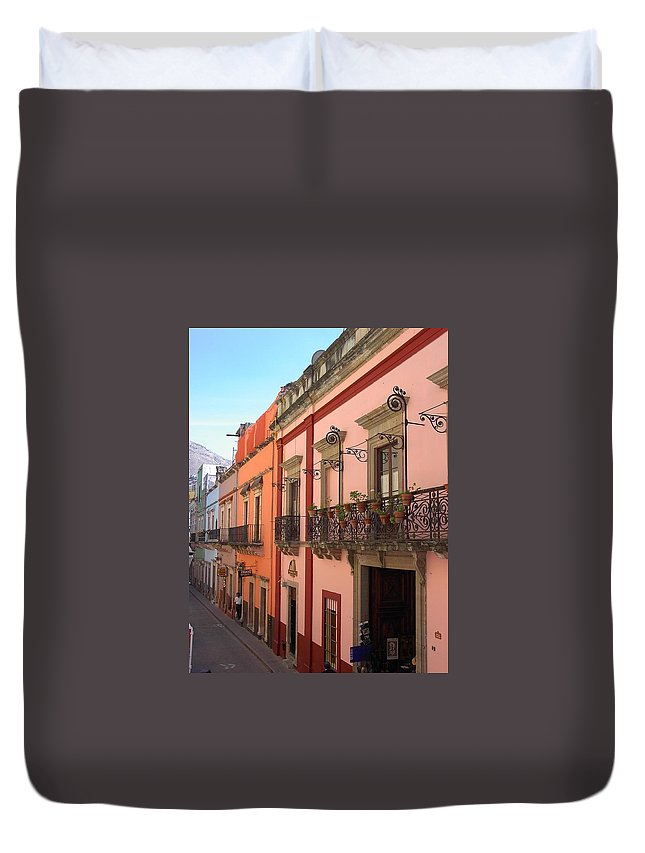 Charity Duvet Cover featuring the photograph Mexico by Mary-Lee Sanders