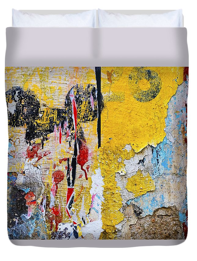 Mickey Mouse Duvet Cover featuring the photograph Mickeys Nightmare by Skip Hunt
