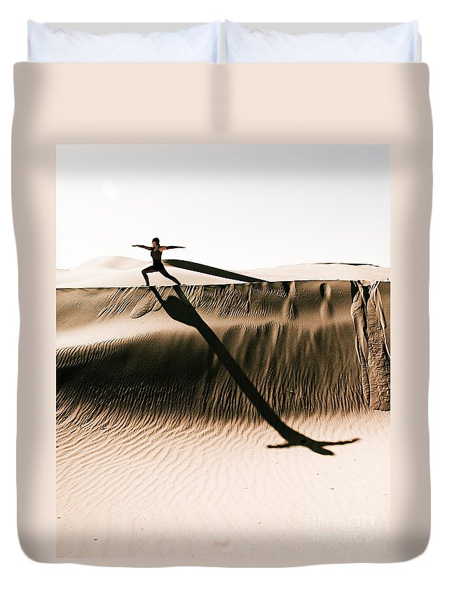 Yoga Duvet Cover featuring the photograph Mid Morning Anthem by Scott Sawyer