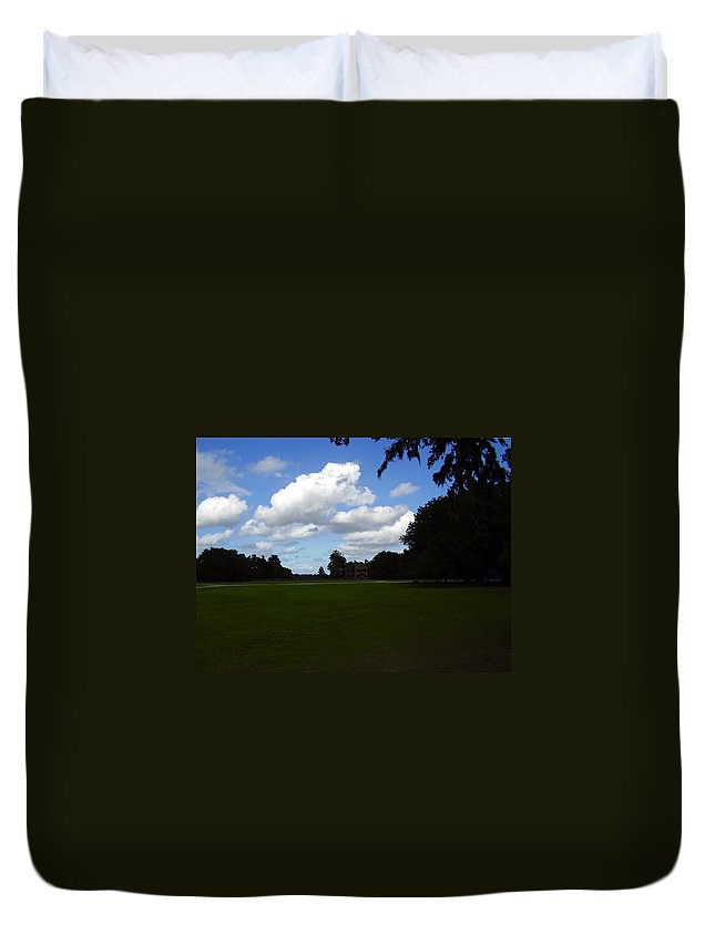 Middleton Place Duvet Cover featuring the photograph Middleton Place by Flavia Westerwelle