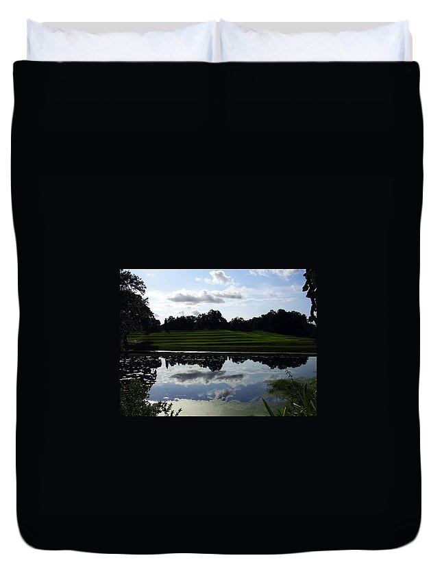 Middleton Place Duvet Cover featuring the photograph Middleton Place II by Flavia Westerwelle