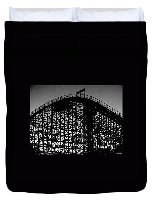 Still Life Duvet Cover featuring the photograph Midnight Ride by Ed Smith