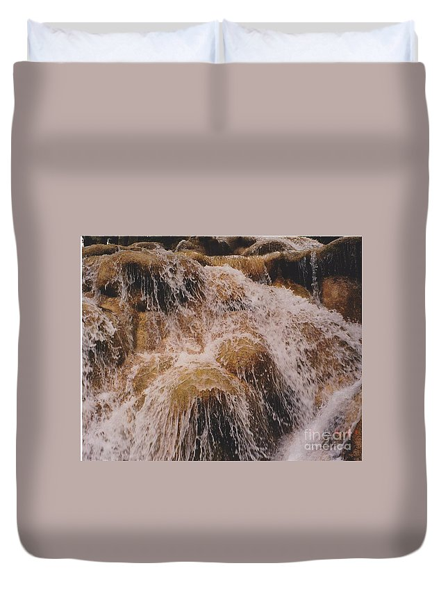 Water Duvet Cover featuring the photograph Milky Way by Michelle Powell