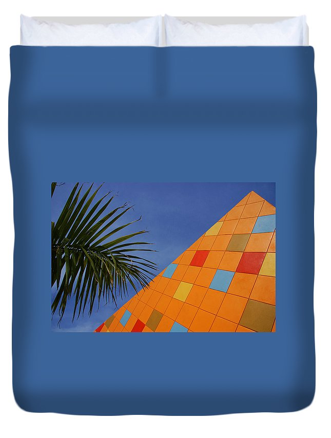 Architecture Duvet Cover featuring the photograph Modern Architecture by Susanne Van Hulst