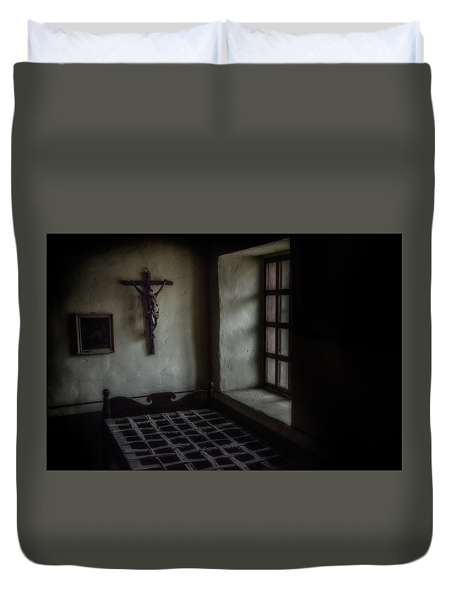 California Duvet Cover featuring the photograph Monk's Life 17th Century by Patrick Boening