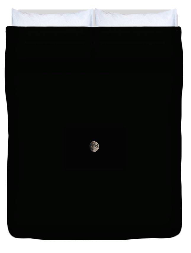 Eric Liller Duvet Cover featuring the photograph Moon Glow by Eric Liller