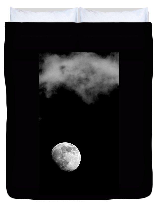 Nature Duvet Cover featuring the photograph Moonlight by Karen Musick