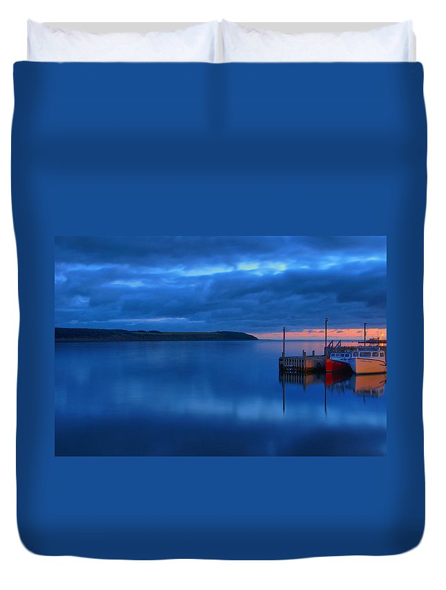 Cape Breton Duvet Cover featuring the photograph Morning In Cape Breton by Joe Ng