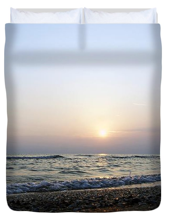 Morning Sun Duvet Cover featuring the photograph Morning Sun1 by LDS Dya