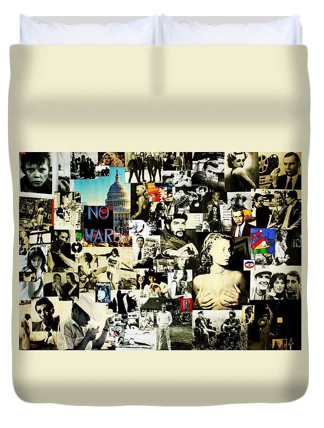 Cinema Duvet Cover featuring the photograph Mosaico N.1 by Federico Biancotti