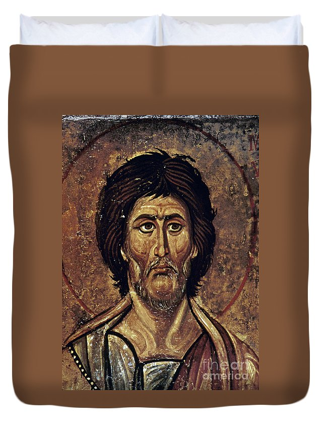 13th Century Duvet Cover featuring the photograph Moses by Granger