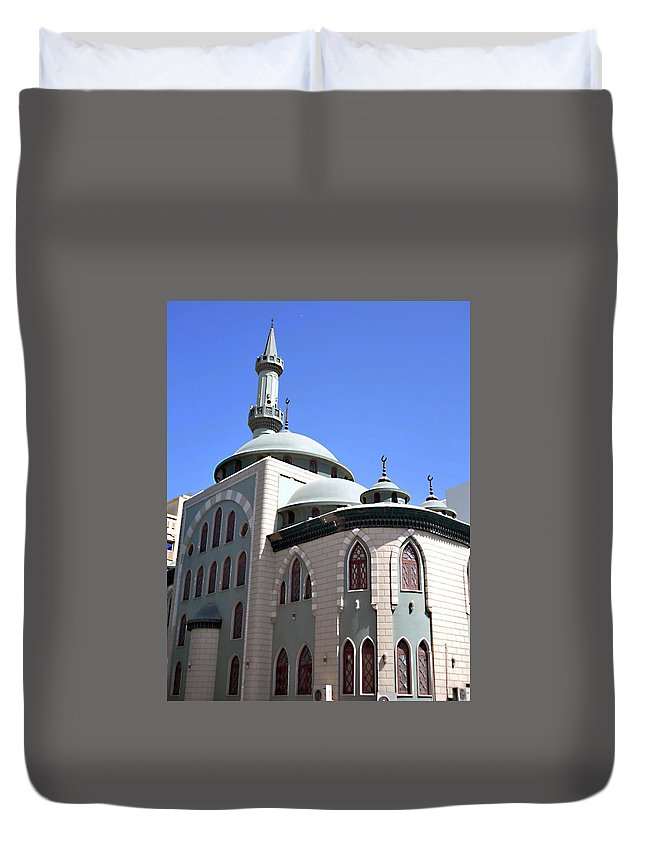 Mosque Duvet Cover featuring the photograph Mosque by John Hughes