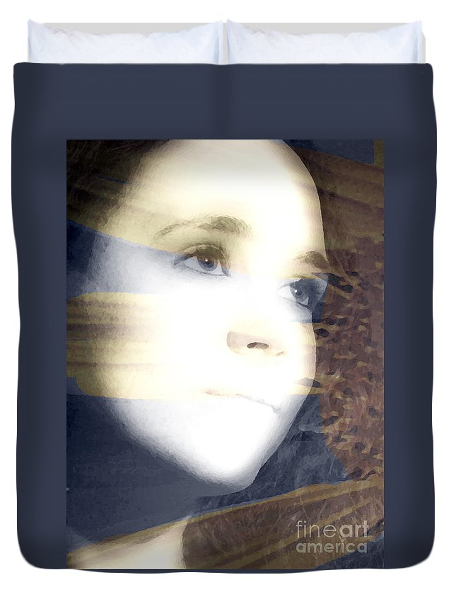 Modern Duvet Cover featuring the photograph Mother Nature by Amanda Barcon