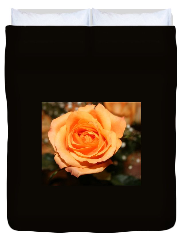 Rose Duvet Cover featuring the photograph Mothers Day Rose by Tiffany Vest
