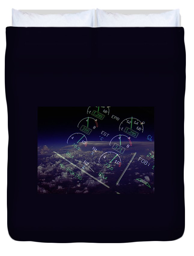 Aviation Art Duvet Cover featuring the photograph Motor Stuff by Strato ThreeSIXTYFive