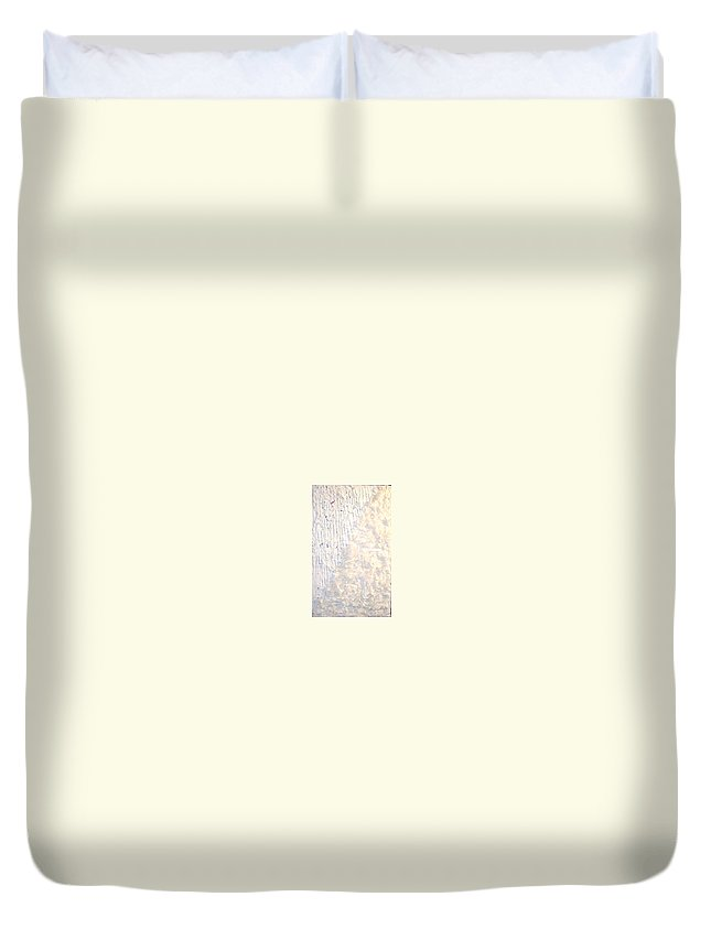 Moveonart! Digital Gallery Duvet Cover featuring the painting Moveonart Brush Of An Angels Wing 1 by Jacob Kanduch
