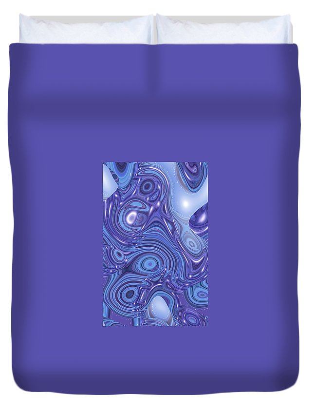 Moveonart! Digital Gallery Duvet Cover featuring the digital art Moveonart Change Of Atmosphere by Jacob Kanduch