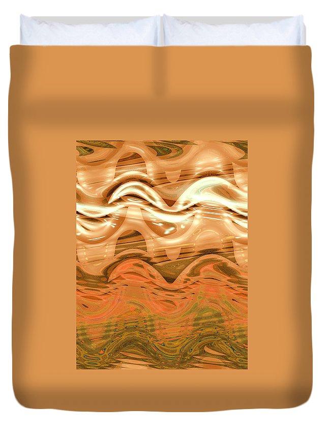 Moveonart! New York / San Francisco / Oklahoma / Portland / Missoula Jacob Kanduch Duvet Cover featuring the digital art Moveonart Change Of Season To Autumn by Jacob Kanduch