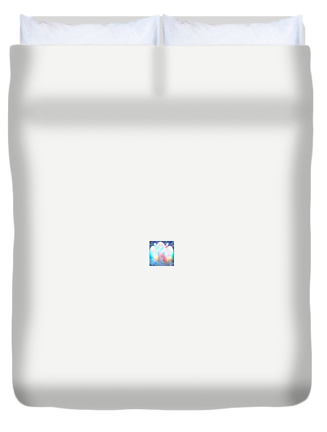 Moveonart! Digital Gallery Duvet Cover featuring the digital art Moveonart Great Ideas About To Hatch Three by Jacob Kanduch
