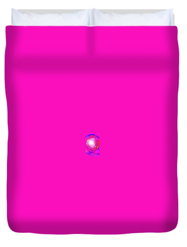 Moveonart! Digital Gallery Duvet Cover featuring the digital art Moveonart In Light Of The Matter by Jacob Kanduch