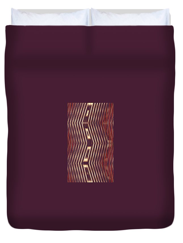 Moveonart! New York / San Francisco Digital Gallery Lower Nob Hill Jacob Kanduch Duvet Cover featuring the digital art Moveonart Light For Alignment by Jacob Kanduch