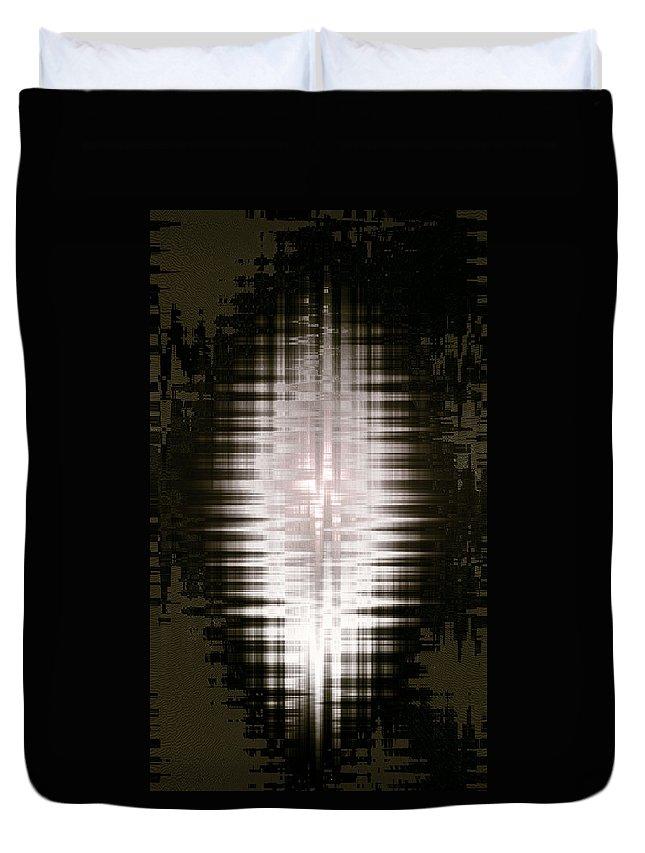 Moveonart! New York / San Francisco / Oklahoma / Portland / Missoula Jacob Kanduch Duvet Cover featuring the digital art Moveonart Minimal Expressions 1 by Jacob Kanduch