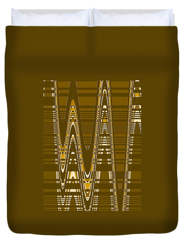 Moveonart Digital Gallery Lower Nob Hill San Francisco California Jacob Kanduch Duvet Cover featuring the digital art Moveonart New American Indian Architecture 2 1 by Jacob Kanduch