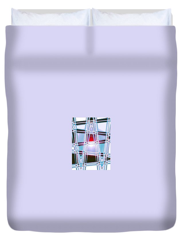 Moveonart! Digital Gallery Duvet Cover featuring the digital art Moveonart Prayer For Wisdom by Jacob Kanduch