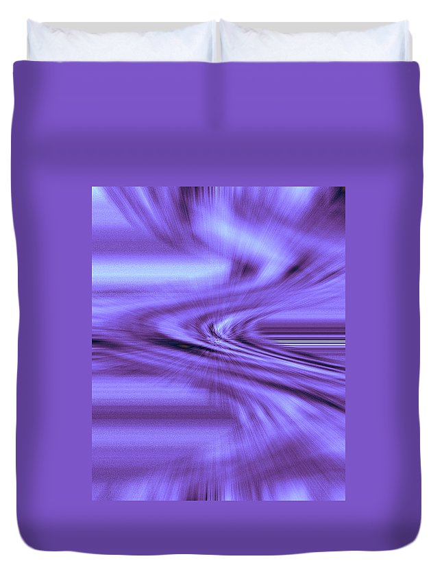 Moveonart! Digital Gallery Duvet Cover featuring the digital art Moveonart Steadfast In Spontaneous Storms by Jacob Kanduch